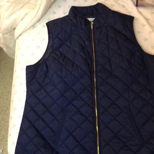 Old navy thin puff vest